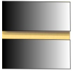 Mirror Acrylic Slatwall